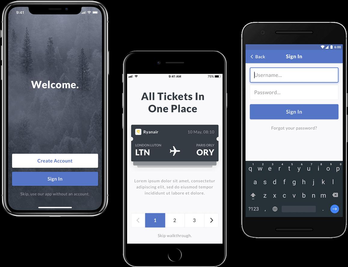 Ui Design System Mobile Version